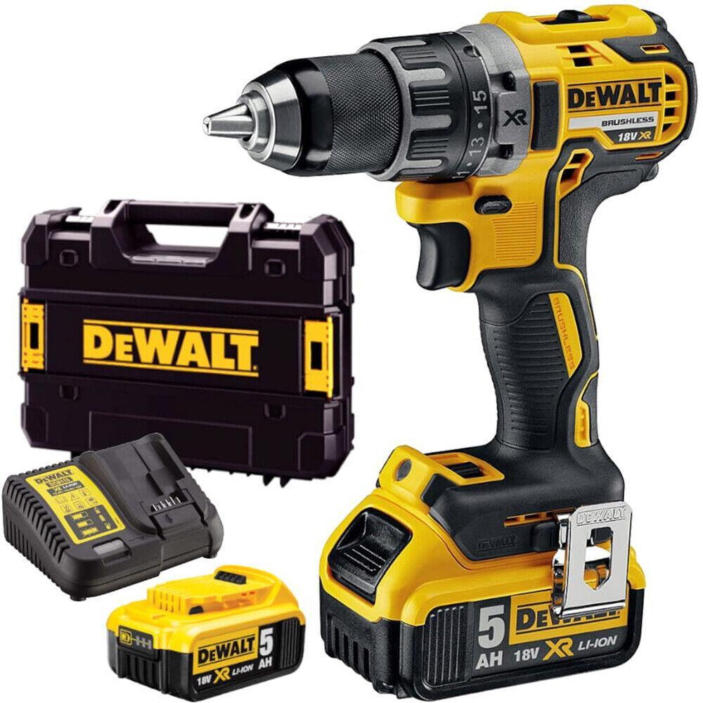 Dewalt DCD791P2 18V 5.0Ah Brushless G2 Drill Driver