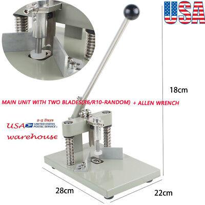 1x Manual Paper Corner Rounder Cutter R6 R10 Craft Trimmer Documentallen Wrench