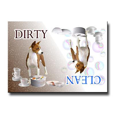 BASENJI Clean Dirty DISHWASHER MAGNET No 1 New DOG