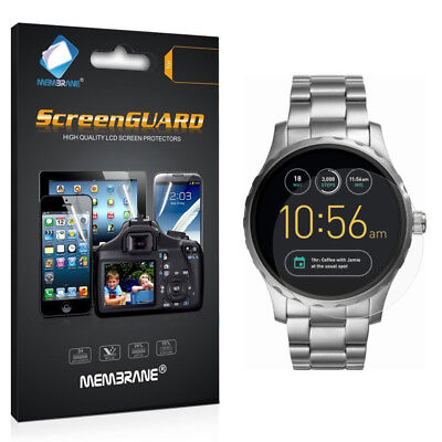 3 Clear LCD Screen Protector Film Saver For Fossil Q Marshal Smartwatch