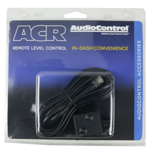 AudioControl ACR-3 Remote Level / Bass Control for Select Sound Processors NEW