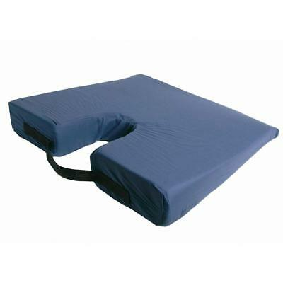 Sloping Coccyx Seat Wheelchair Car Cushion in Navy Posture Promotion