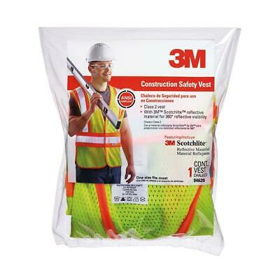 3m High-visibility Yellow Reflective 2-tone Construction Safety Vest 2-pack