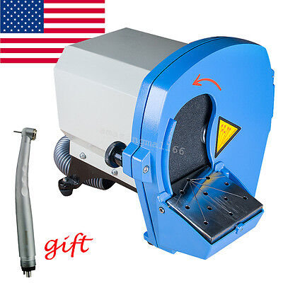 Dental Wet Model Trimmer Plaster Abrasive Grinder Trimming Lab Equipment Gypsum