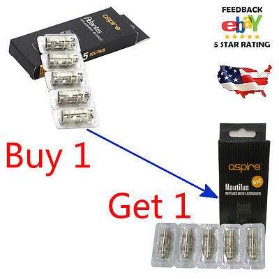 Buy 1 Get 1 Aspire Bvc Coil 1 6Ohm 1 8Ohm For Nautilus   Nautilus Mini Fast Ship