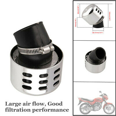 Scooter Motorcycle Carburetor Modified Mushroom Head Air Filter 35-38mm Caliber