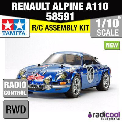 NEW! 58591 TAMIYA RENAULT ALPINE A110 MONTE-CARLO RALLY CAR M-06 1/10th R/C KIT