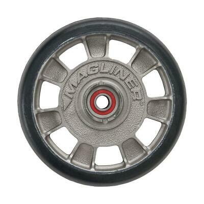 8 In. X 1-58 In. Hand Truck Wheel Mold-on Rubber With Sealed Semi-precision B