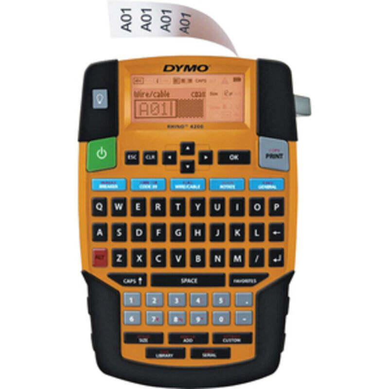 Dymo Corporation 1835374 Rhino 4200 Label Case Kit Industrial Labeling Tool And