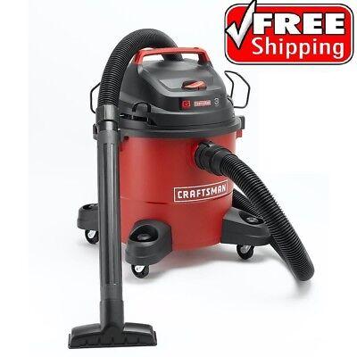 (Craftsman Wet Dry Vac 6 Gallon Vacuum Cleaner 3 Peak HP Portable Shop Blower)