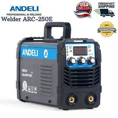 Arc Welder Welding Machine Amp Stick Dc Inverter 250 Mma Igbt Mini Duty Cycle