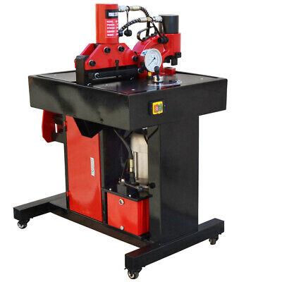 3 In 1 Hydraulic Busbar Multi-function Bender Cutter Puncher Shearing