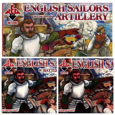 English sailors artillery Red Box 72083 1:72