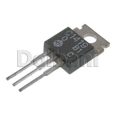 2sc1419 Original New Hitachi Power Transistor 50v 2a 20w Npn To-220