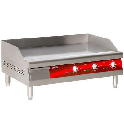Avantco Electric Commercial Flat Top Restaurant Griddle Countertop Equipment 30