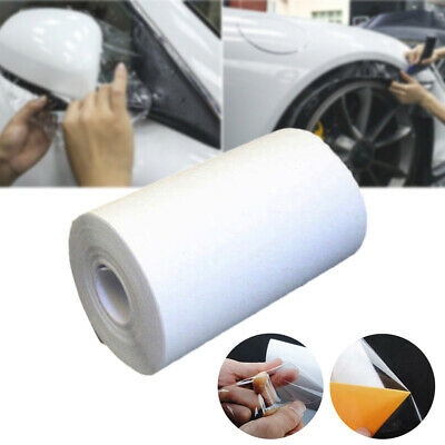 Car Anti-zoned Film Protect Bumper Hood Bras Door Paint 9.8Mx10CM Transparence
