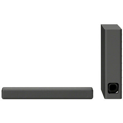 Sony HTMT300 Mini Sound bar with Wireless Subwoofer, Black (OPEN BOX)
