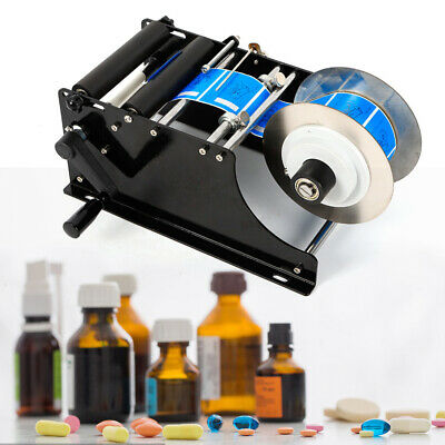 Manual Labeling Machine Label Applicator Bottle Labeler Sticker With Handle Usa