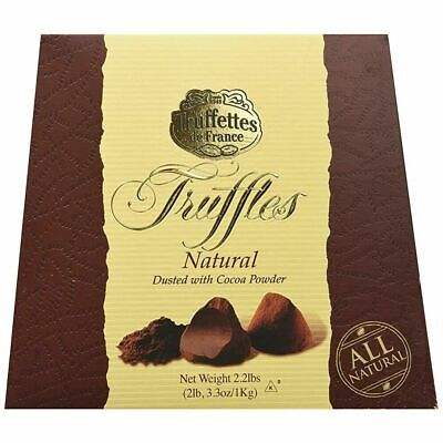 1KG Truffettes de France Truffles French Chocolate Natural Dusted Cocoa Powder