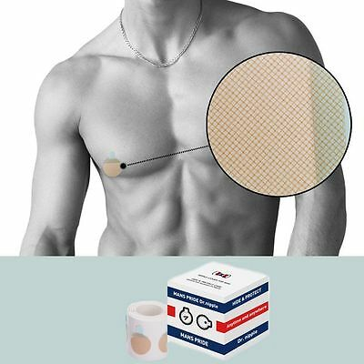 Dr. Nipple Band Cover for Men Hide & Protect Care 50 Pair (100 Pieces) [25mm] CA