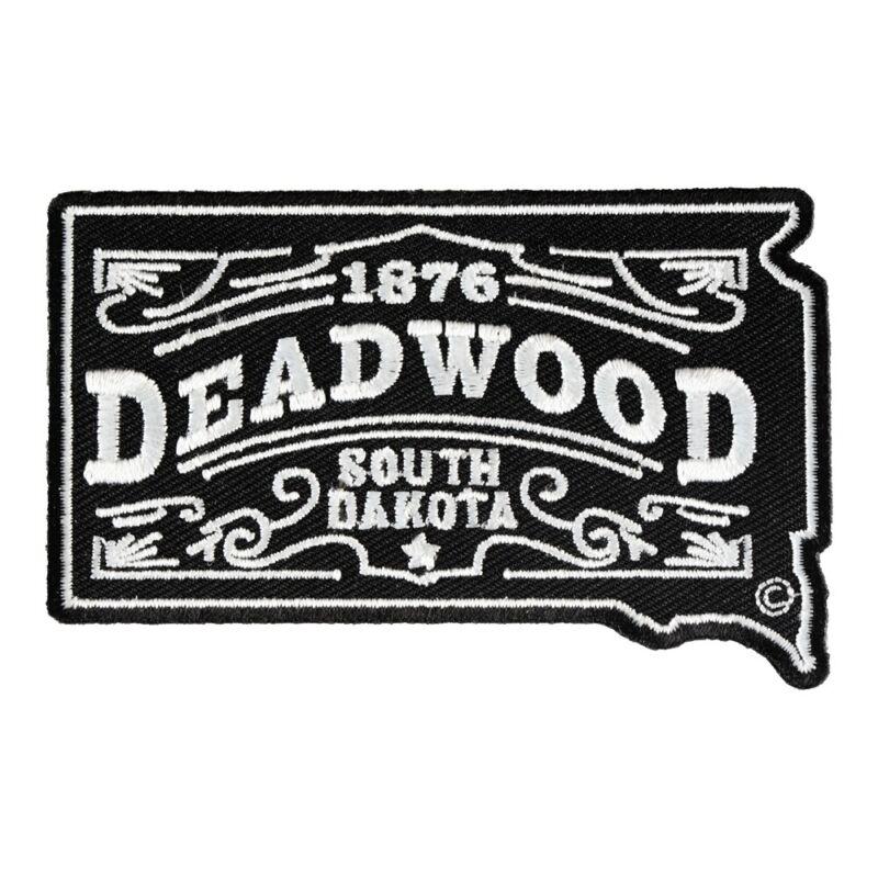 Deadwood South Dakota State Patch, South Dakota Patches