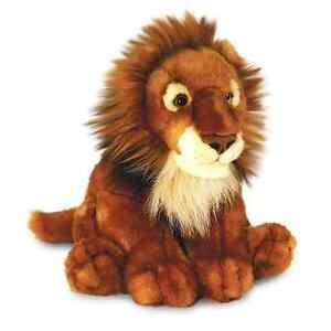 Keel Toys Wild - 40cm African Lion Cuddly Soft Toy Plush /Teddy SW3616