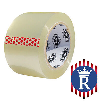 3 X 110 Yd Clear Carton Sealing Box Tape 2.3mil Ships Today