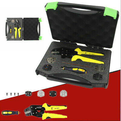 Paron Jx-ds5 Pro Wire Crimper Tool Kit Crimping Pliers Cord End Terminals