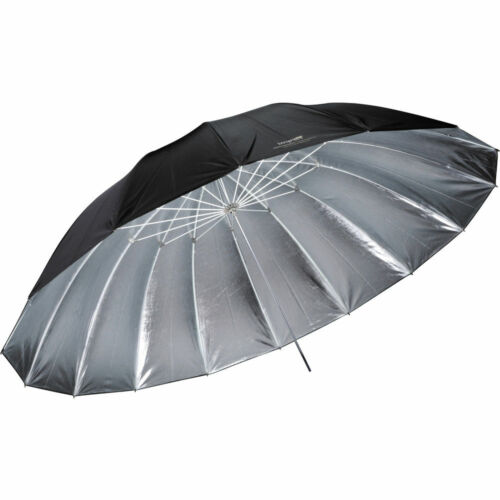 Impact UP-7SI  7-Feet Silver with Black Cover Improved Parabolic Umbrella Silver