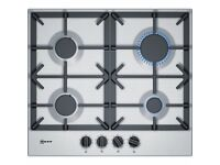 Neff 4 Burner Gas Hob T26DS49N0 - Stainless Steel With Cast Iron Pan Supports