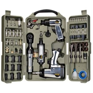 f7429f79e70 Trades Pro 71 Piece Air Tool and Accessories Kit with Storage Case