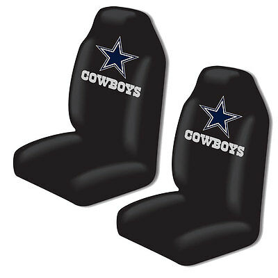 New NFL Dallas Cowboys 2 Front Universal Fit Car Truck  Bucket Seat Covers - Dallas Cowboys Bucket