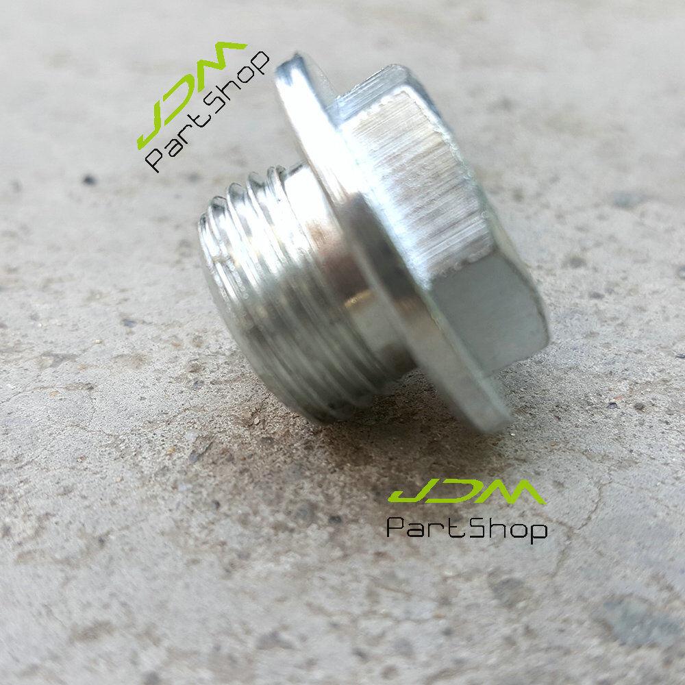 O2 Sensor Bungs Plug M18 x 1.5MM Thread Zinc Plated Mild Steel Male Brand New