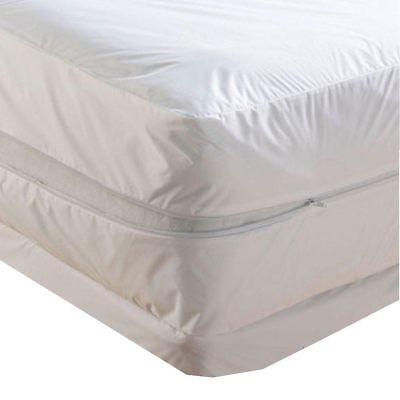 Waterproof Zippered Mattress Protector Bed Bugs Dust Mites cover Vinyl Bed Bug Mattress Protector