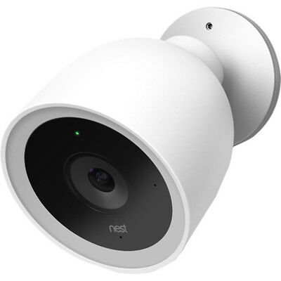 Nest Cam IQ Outdoor Security Camera - White - (NC4100US)