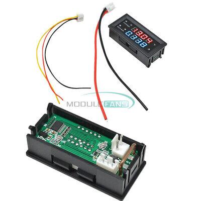 Dc0-100v 10a Dual Display Voltage Current Power Meter Ammeter M4430 4-digit Led