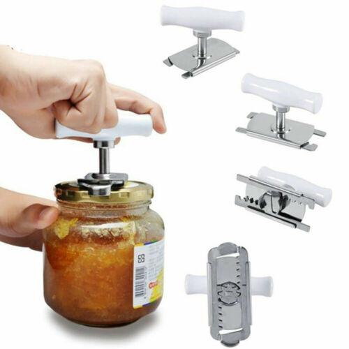 Manual Screw Cap Jar Can Opener Bottle Lid Grip Remover Adju