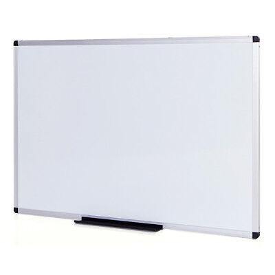 Erase Board (Magnetic Dry Erase Board / Whiteboard, 36 X 24 Inches, Silver Aluminium)