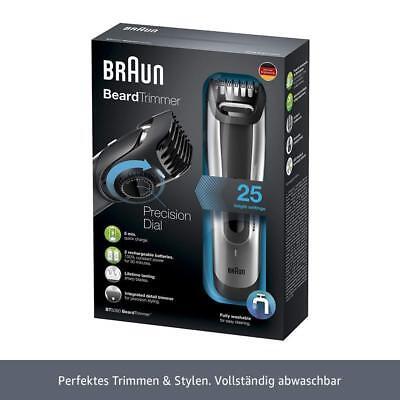 Braun BT5090 Bartschneider  Haarschneider Akku Netzbetrieb BT 5090