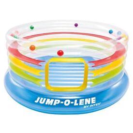 Jump-O-Lene Transparent Ring Bouncer. 182 cm