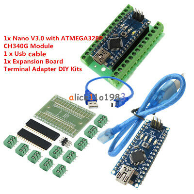 Micro Contoller 5v Welded Nano V3.0 Ch340g Arduino Bootloader Chipbreakoutboard
