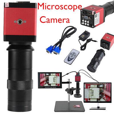 8130x Digital Industrial Microscope Camera Hdmi Vga Video Zoom C-mount Len 14mp
