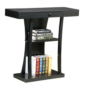 Hallway Table Bookshelf Entry Console End Sofa Accent Modern Hall Furniture  Wood