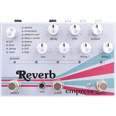 Empress Effects Reverb True Buffered Bypass Guitar Effects Stompbox FX Pedal