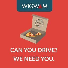 Delivery Driver for national Pizza chain - £9 p/h + 80p per delivery + Tips - Earn > £12 /hour
