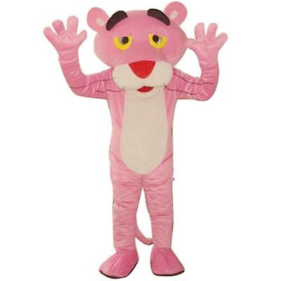 Fancytrader Cartoon Pink Panther Mascot Costume Fancy Dress Outfit Halloween - Halloween Pink Panther Costume