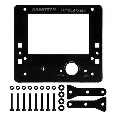 Geeetech black Acrylic frame kit for LCD12864 Display Acrylic Prusa I3 3D Print