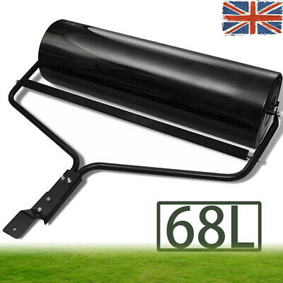68L Iron Garden Lawn Grass Roller Outdoor Sand Water Filled Sowed Seed Aerator