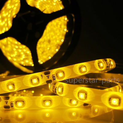 5m Boat Accent Light WaterProof Amber LED Lighting Strip RV SMD 2835 300 LEDs