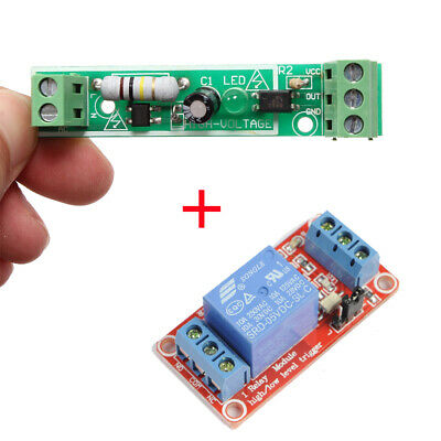 Ac 220v Optocoupler Isolation Module 5v 1-channel Relay Module For Arduino